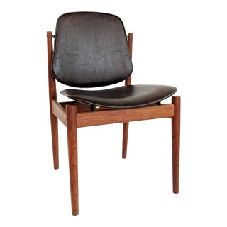 1950s Vintage Arne Vodder for France & Sons Denmark Teak Dining Chair - 3 Available For Sale