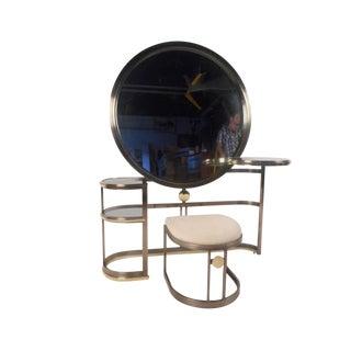 Vintage Modern Vanity by Dia For Sale