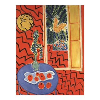"1995 ""Interieur Rouge"" Henri Matisse Lithograph For Sale"