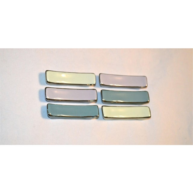1970s Mid-Century Knife Rests - Set of 6 For Sale - Image 5 of 8