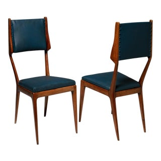 Pair of Italian 60s Chairs For Sale