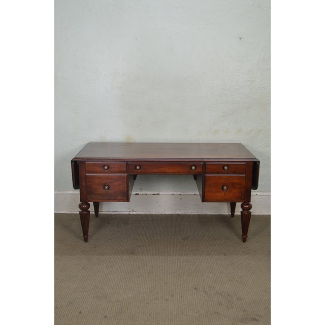 Ethan Allen British Classics Marshall Drop Leaf Desk For Sale - Image 9 of 13