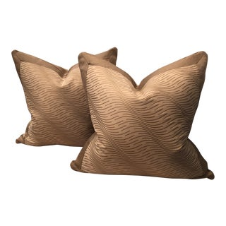 Fortuny Fabric Pillows - A Pair