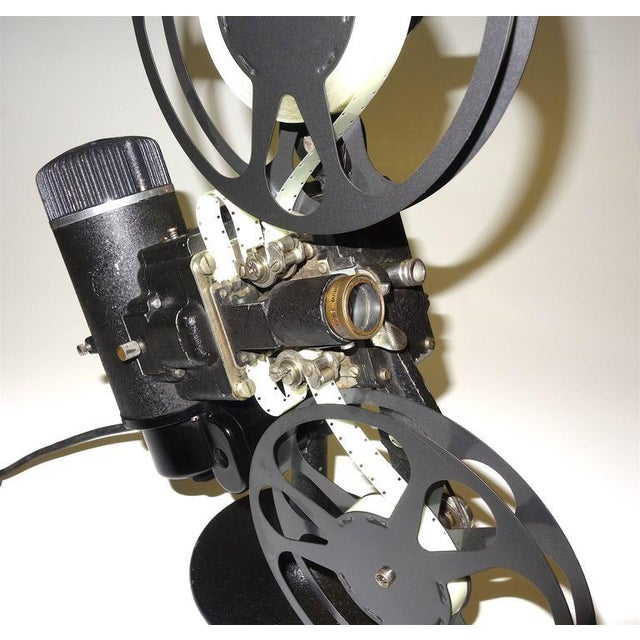 Metal Rare First Model 16MM Cinema Movie Projector Circa 1923. Display As Sculpture. For Sale - Image 7 of 10