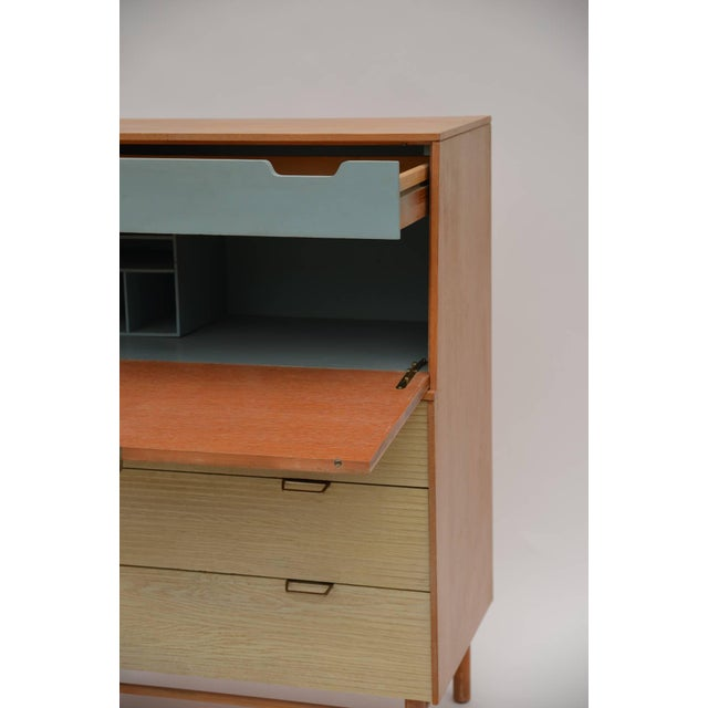 1950s Pristine Mid-Century Secretary Cabinet by Raymond Loewy for Mengel For Sale - Image 5 of 8