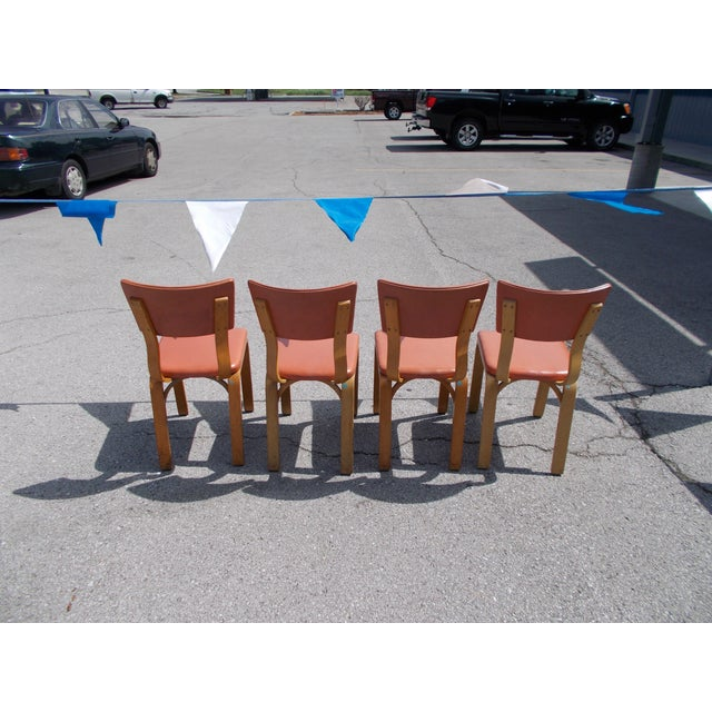 Mid-Century Modern Thonet Bentwood Chairs - 4 For Sale - Image 3 of 5