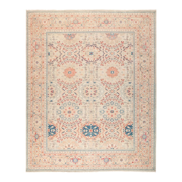 "Ziegler Hand Knotted Area Rug - 8' 0"" X 9' 10"" - Image 1 of 4"
