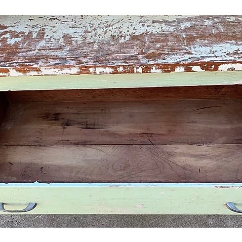 Antique Farmhouse Hutch For Sale In San Francisco - Image 6 of 8
