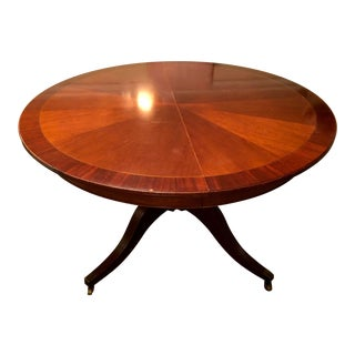 Vintage Baker Furniture Historic Charleston Collection Mahogany Table Price Reduced For Sale