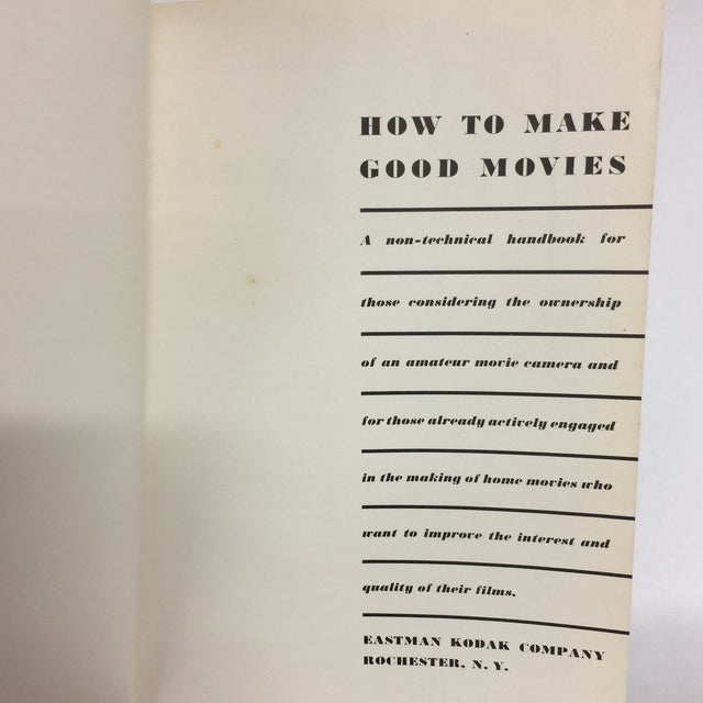 1955 How to Make Good Movies For Sale - Image 4 of 10