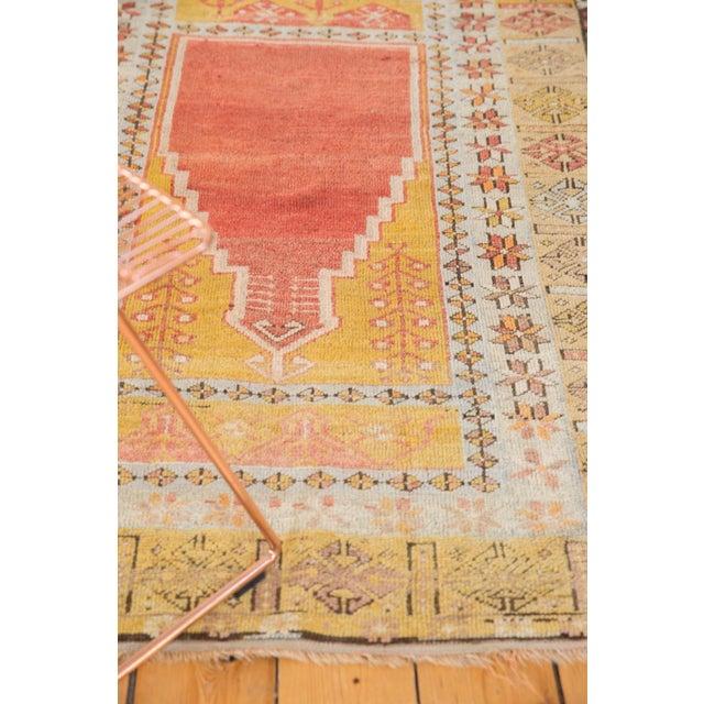 """Vintage Turkish Prayer Rug - 3'8"""" x 5'2"""" For Sale - Image 9 of 13"""