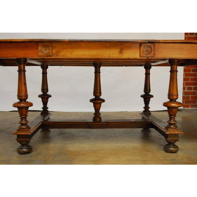 louis xiii period refectory dining table chairish. Black Bedroom Furniture Sets. Home Design Ideas
