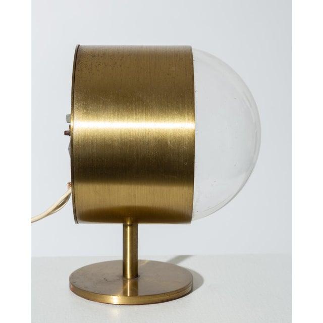 Metal George Nelson Model 4766 Brass Clock for Howard Miller For Sale - Image 7 of 8