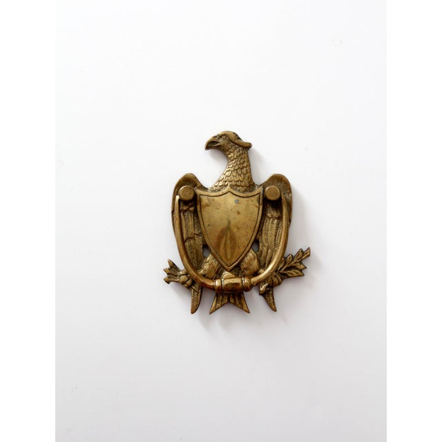 Antique Brass Eagle Door Knocker - Image 2 of 6