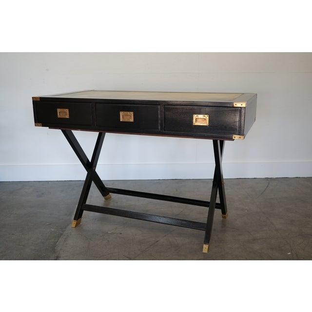 Mid-Century Italian Desk/Console For Sale In Nashville - Image 6 of 9