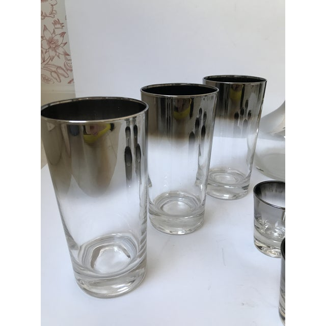 Dorothy Thorpe Style Glasses, Decanter & Shot Glasses - Set of 13 - Image 5 of 6