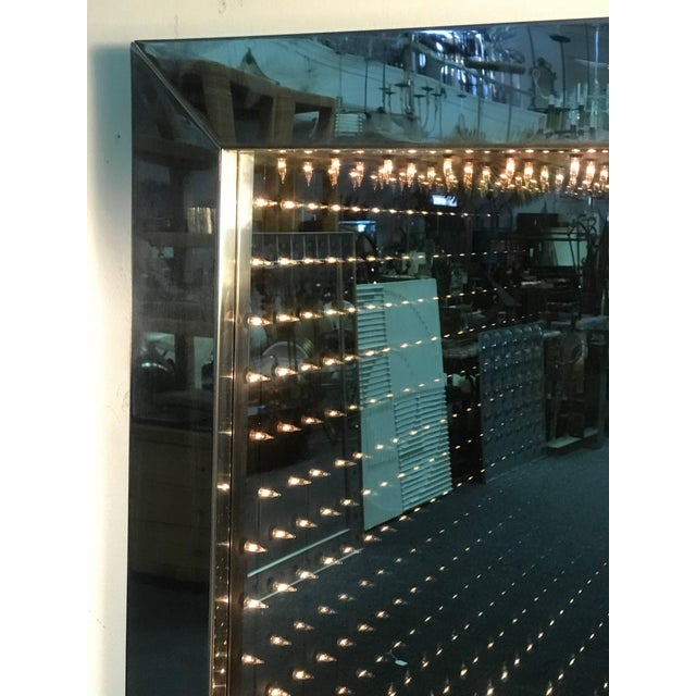 1970's Infinity Mirror For Sale - Image 4 of 8