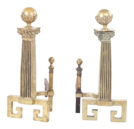 Image of English Traditional Fireplace Accessories