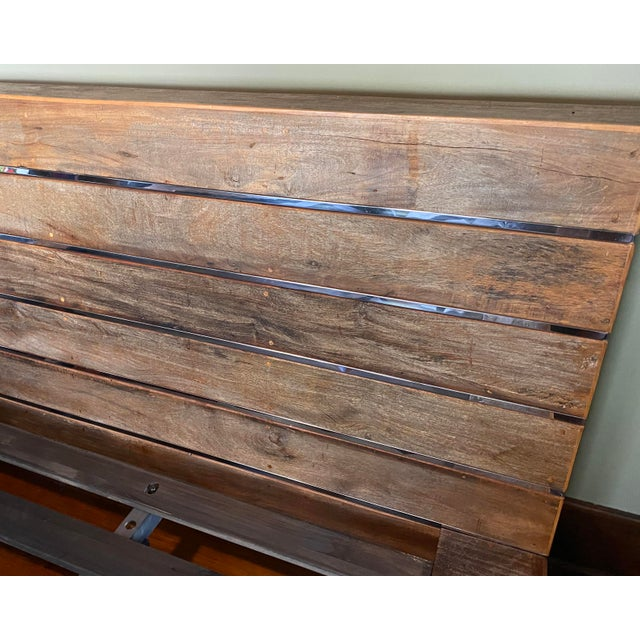 Cisco Brothers Environment California King Platform Bedframe For Sale - Image 4 of 5