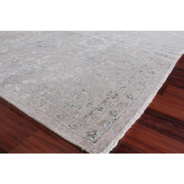 Hand Knotted with the highest quality Bamboo Silks, these rugs feature unique, innovative, and refined designs. The...