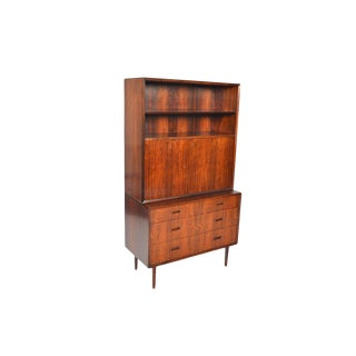 Lyby Gentleman's Chest With Rosewood Hutch #3 For Sale