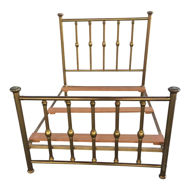 Antique Full Size Brass Bed For Sale