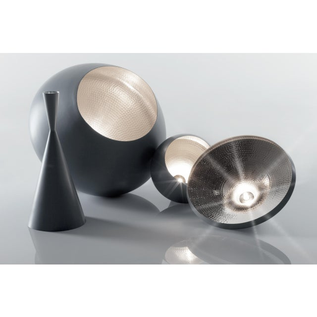Mid-Century Modern Tom Dixon Beat Stout Pendant Grey For Sale - Image 3 of 8