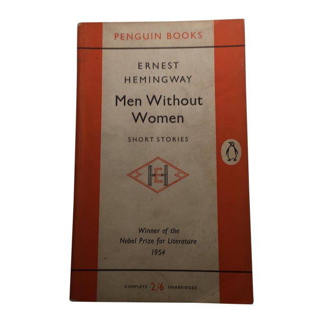 Ernest Hemingway Men Without Women Book For Sale