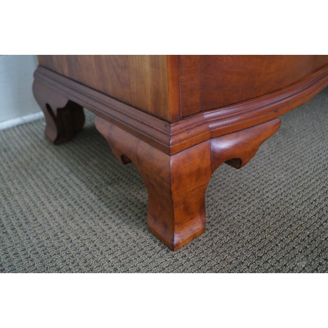 Nathan Margolis Chippendale Serpentine Chest - Image 10 of 10