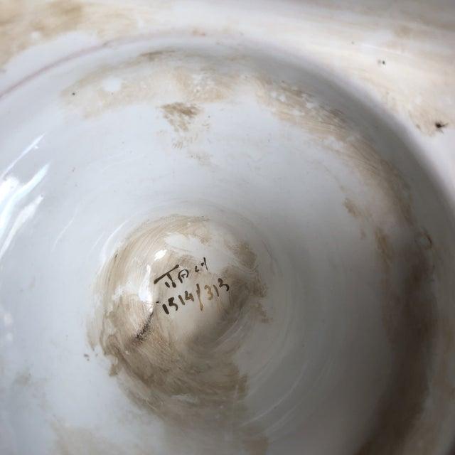 Ceramic Italian Tassel Urn Vases - a Pair For Sale - Image 7 of 10