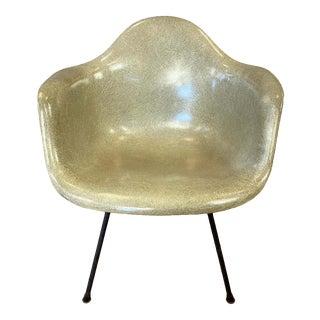 1949 Charles Eames Rope Edge Fiberglass Shell Armchair for Herman Miller For Sale