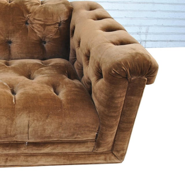 Mid Century Vintage Wormley Dunbar Party Sofa For Sale In Houston - Image 6 of 7