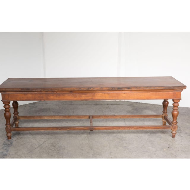 Antique Anglo-Indian Rosewood Bench - Image 6 of 7