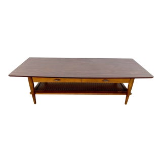 1960s Danish Modern Coffee Table For Sale