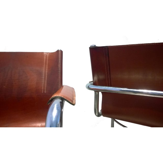 1970s Vintage Matteo Grassi Italian Bauhaus Style Cantilever Chair For Sale  - Image 5 of 12 886bbb6ddd219