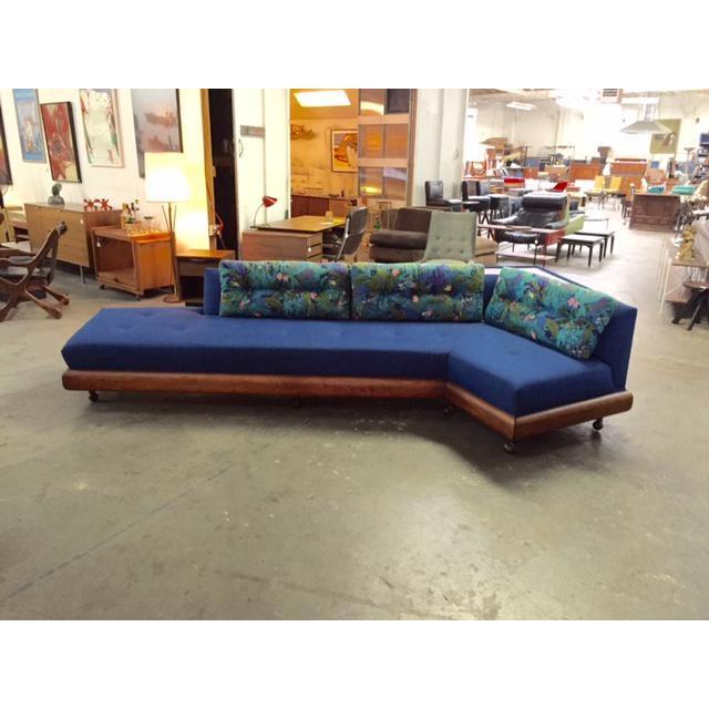 Mid Century Adrian Pearsall for Craft Associates Model 1800 Boomerang Sofa - Image 2 of 11