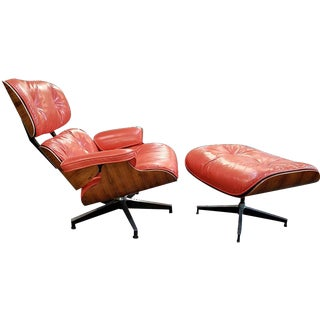 Herman Miller Eames Lounge Chair & Ottoman - A Pair For Sale