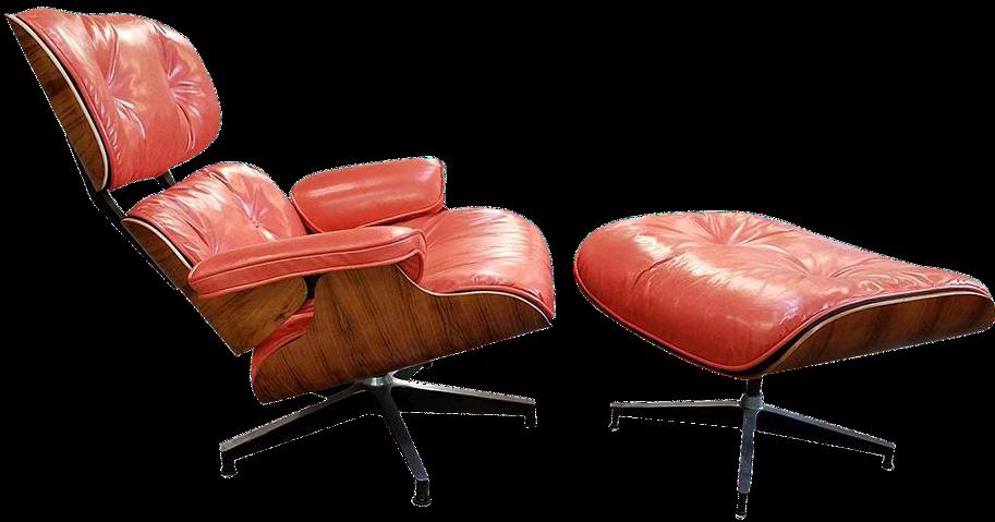 Herman Miller Eames Lounge Chair U0026 Ottoman   A Pair