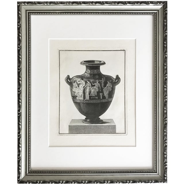 18th Century Engraving of Greek Hydra For Sale