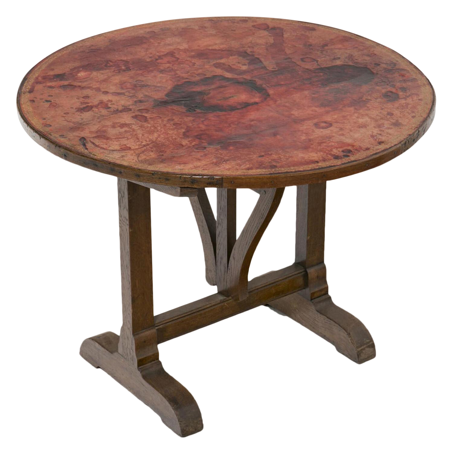 Early 20th Century Small French Wine Table