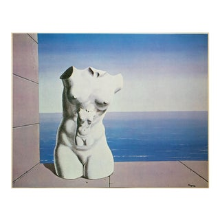 "1972 Rene Magritte, ""Objective Stimulation"" Original Photogravure For Sale"