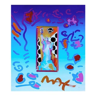 Peter Max Statue of Liberty 1998 For Sale