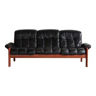 Ekornes Norwegian Teak Sofa For Sale