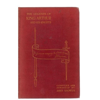 """""""The Legends of King Arthur & His Knights"""" Books For Sale"""