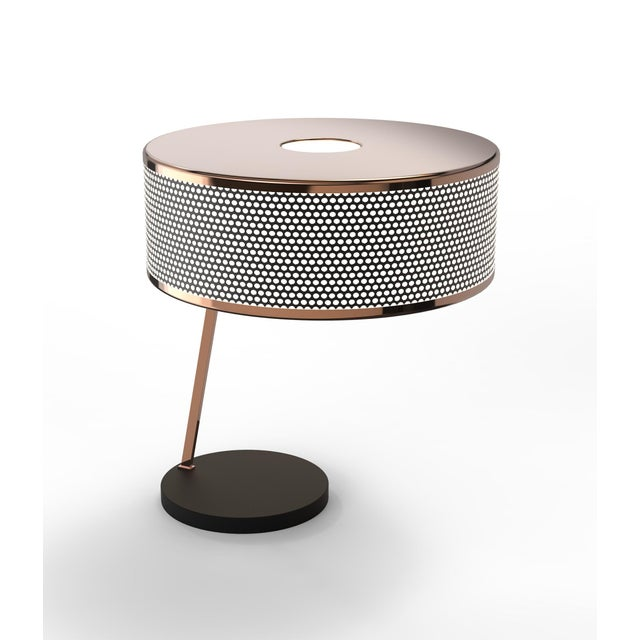 Metal Marcus Table Lamp From Covet Paris For Sale - Image 7 of 13