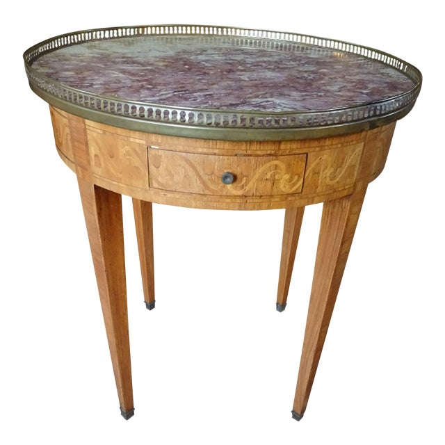 19th Century French Bouillotte Table For Sale