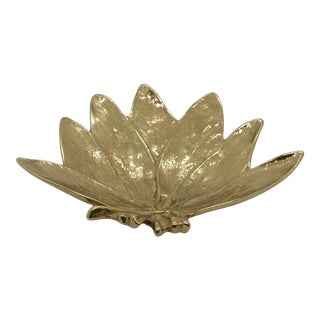 """""""Sage"""" Virginia Metalcrafters Brass Dish For Sale"""