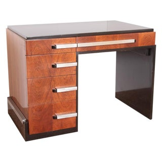 Machine Age Art Deco Donald Deskey for Widdicomb Asymmetric Desk