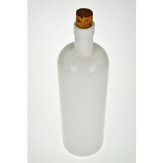 Antique Unmarked Milk Glass Bottle Preview