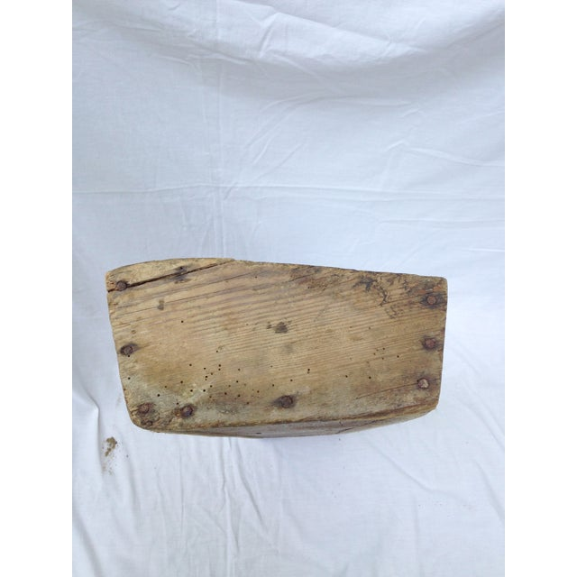 Rustic French Wood Trough - Image 5 of 6